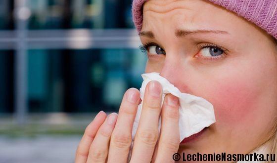 причины боли в носу