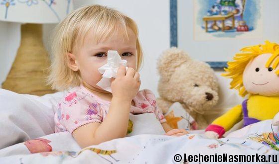 аденоиды у маленького ребенка