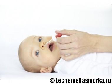 капли в нос новорожденным