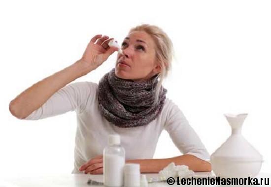 диагностика аллергического насморка