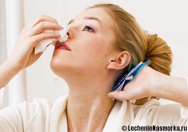 лечение ринита в домашних условиях