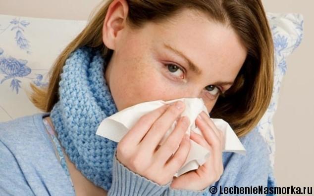 причины заложенности носа при аллергии