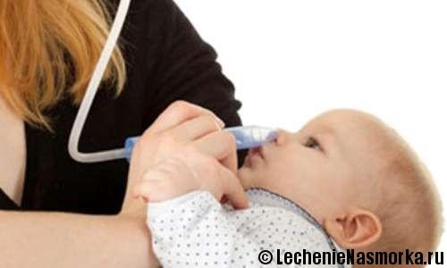промывание носа грудным молоком