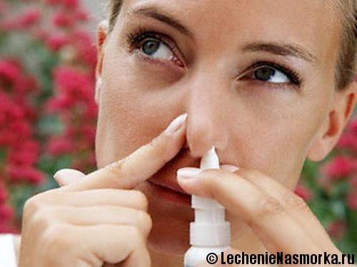 правильное применение капель при заложенности носа
