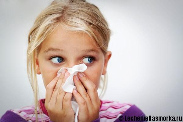 неприятных запах из носа