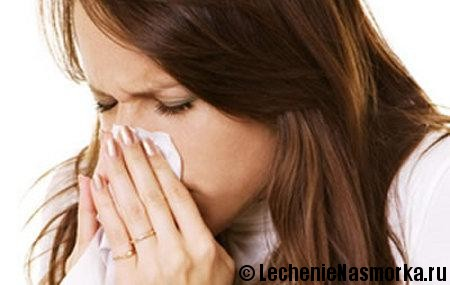 заложенность носа лечение при аллергии