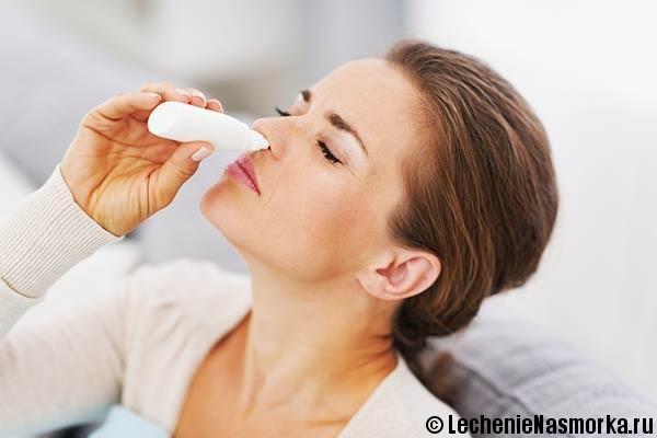 лечение насморка препаратами