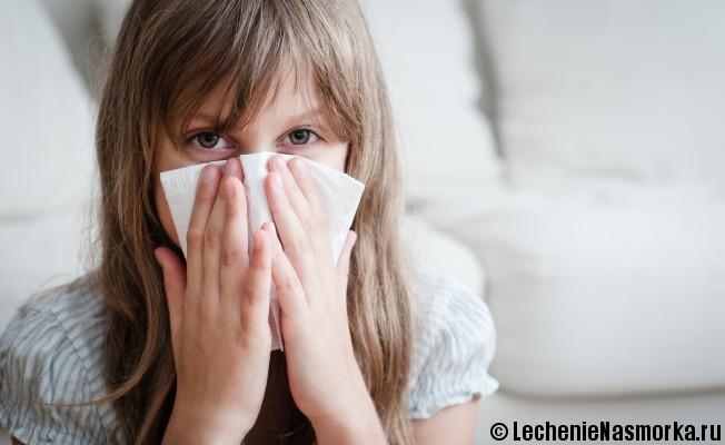 симптоматика синусита у детей