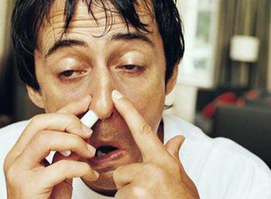 Галазолин в нос