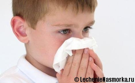 лечение детского насморка