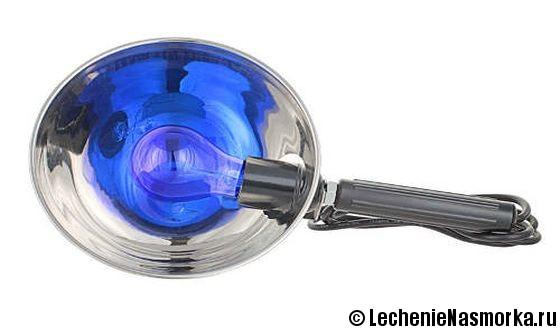 синяя лампа