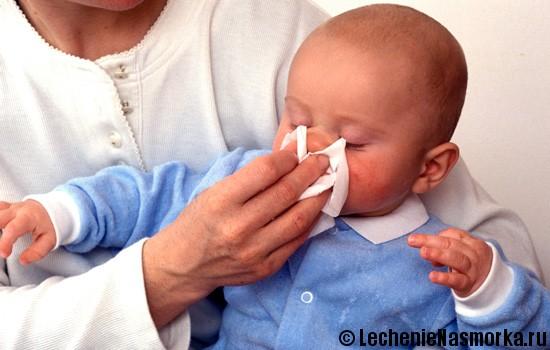 методы лечения насморка у детей