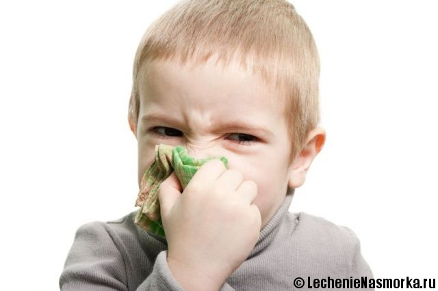 заложен нос у маленького ребенка
